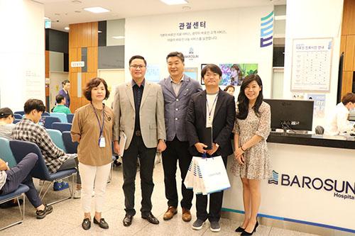 Trường Trun cấp Bách Khoa Sài Gòn thăm và ký hợp tác với đại học Shinhan tại Hàn Quốc